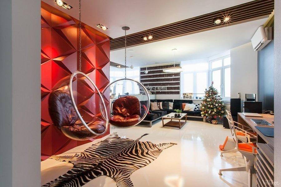 Дизайн молодежной гостиной